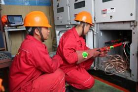 海上电网检修