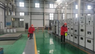 海盛电气积极开展疫情防控工作